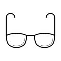 Eyeglasses For Vision Correction Icon, Vector Illustration Stock Photos - 91830813