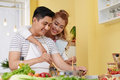 Cooking With Love Stock Images - 91837214