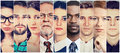 Multiethnic Group Of Serious People Stock Image - 91855521