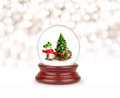 Christmas Snow Globe. Stock Images - 91863374