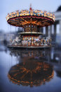 Carousel With Horses Stock Photos - 9190413