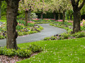 Winding Garden Path Royalty Free Stock Photo - 9197935