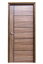Wooden Door On Isolated Royalty Free Stock Image - 91917576