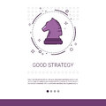 Good Strategy Business Planning Banner With Copy Space Royalty Free Stock Photography - 91957477