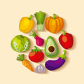 Healthy Organic Vegetarian Foods Related Icons Image Royalty Free Stock Photos - 91962298