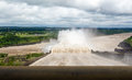 Spillway Of Itaipu Dam - Brazil And Paraguay Border Royalty Free Stock Photography - 91970607