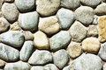 Built Of Natural Stone Textured Wall Royalty Free Stock Image - 91983306