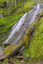 Hidden Cascade In The Forest Royalty Free Stock Images - 91999409
