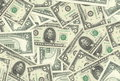 5 Dollar Notes Texture Royalty Free Stock Photography - 9202647