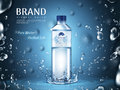Pure Mineral Water Ad Stock Photo - 92010540