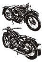 Old Motorbike Stock Images - 9218764