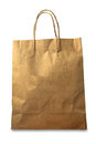 Brown Paper Bag On White Background Stock Photo - 92113880