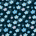 Vector Floral Seamless Pattern. Illustration Of Flowers Royalty Free Stock Photo - 92135625