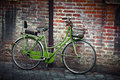 Old Retro Bycicle In Italy Stock Photo - 92144790