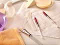 Cosmetic Tools, Drugs And Syringes For Beauty Injections. Still Life. Stock Image - 92166371
