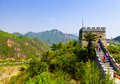 Huanghuacheng Great Wall Beacon Tower Royalty Free Stock Photography - 92186837