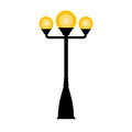Vector Vintage Streetlight Royalty Free Stock Photo - 92193105