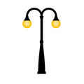 Vector Vintage Streetlight Stock Images - 92193204