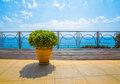 View Of Sea From Balcony Of Hotel Royalty Free Stock Image - 92204616