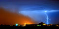 Monster Dust Storm Approaching In Arizona Stock Image - 92213171