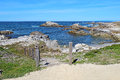 Stairway To Asilomar State Beach In Pacific Grove, California Royalty Free Stock Images - 92246169