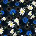 Abstract Cornflowers 2-01 Royalty Free Stock Images - 92279219