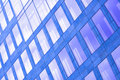 Abstract Violet Crop Of Skyscraper Royalty Free Stock Image - 9237246