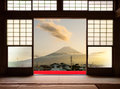 Traditional Japanese Indoor  House And Paper Sliding Doors And T Royalty Free Stock Photos - 92363168