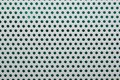 Perforated White Metal Stock Image - 9247451