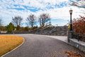 Footpath And Stairs To The Promenade In Piedmont Park, Atlanta, USA Royalty Free Stock Image - 92457436