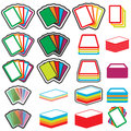 Color Vector Game Cards Icon Set. Eps10 Stock Photography - 92458072