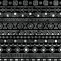 Seamless Ethnic Pattern. Tribal And Aztec Motifs. Grunge Texture Royalty Free Stock Images - 92461969