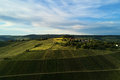 Vineyards Landscape On The Hill From Top With Drone, Dji Royalty Free Stock Images - 92492109