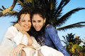 Girls On Beach Vacation Royalty Free Stock Image - 9251386