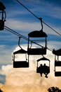 Scenic Chair Lift Royalty Free Stock Photography - 9253547