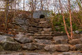Stone Stairs On Wetlands Trail In Piedmont Park, Atlanta, USA Royalty Free Stock Images - 92520319
