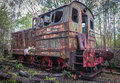 Train In Chernobyl Zone Royalty Free Stock Images - 92521569