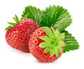 Strawberry  On White Stock Photos - 92554513