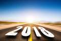 Road Leading To 2018 Stock Images - 92560504