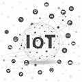 Internet Of Things Concept And Cloud Computing Technology Stock Photography - 92576932