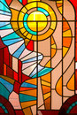Stained Glass Window Royalty Free Stock Photo - 9262275