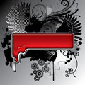Fused Metal Banner Royalty Free Stock Photo - 9268785