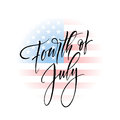 Fourth Of July Celebration Banner, Greeting Card Design. Happy Independence Day Of United States Of America Hand Stock Photos - 92617413