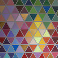 Colorful Creative Geometrical Abstract Shaped Interior Wall Pain Royalty Free Stock Images - 92662489