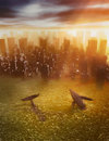 Catastrophic Climate Change Stock Photography - 92733612