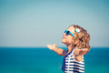 Happy Child On Summer Vacation Stock Image - 92743751