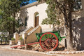 Horse Or Ox Drawn Cart In Matjiesfontein Royalty Free Stock Images - 92752449