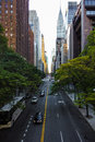 Endless Streets Of Manhattan New York Skyscraper Cars Stock Photo - 92758110