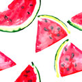 Beautiful Wonderful Bright Colorful Delicious Tasty Yummy Ripe Juicy Cute Lovely Red Summer Fresh Dessert Slices Of Watermelon  Pa Royalty Free Stock Photos - 92761608