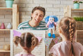 Performance In The Puppet Theater Stock Image - 92764481